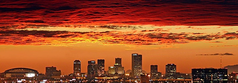 Phoenix-Skyline-and-sunset